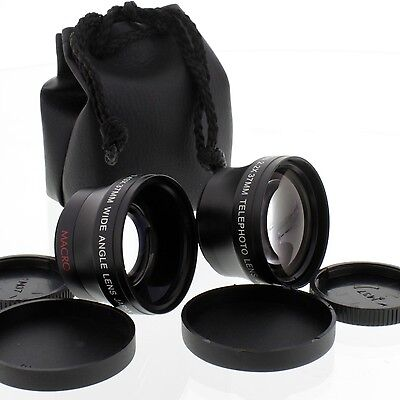 WIDE ANGLE + Telephoto 2X LENS FOR NIKON COOLPIX 4500 995 990 950 cameras (Nikon Coolpix Wide Angle)