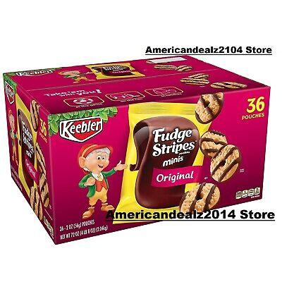 Keebler Fudge Stripes Cookies (2 oz., 36 ct.), SEALED ITEM!!