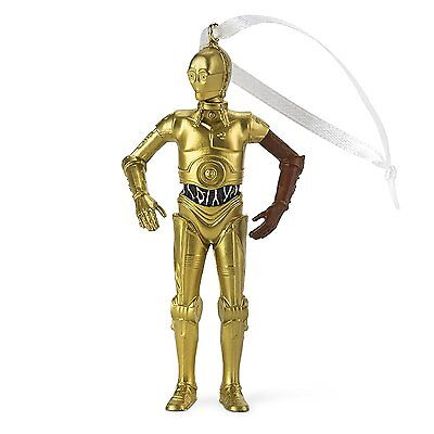 2016 Hallmark Christmas Ornament Disney Star Wars, C3PO, C-3PO - NEW!!