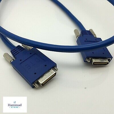 Cisco 3 FOOT DB60 M//M DCE//DTE Crossover Serial Cable CCNA//CCNP Labs Male