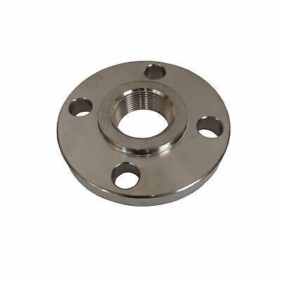 Stainless Steel Flange 1 Inch Npt Thread 304 Ss Class 150
