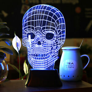 Skull Lamp   eBay