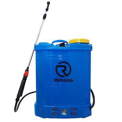 Pompa Irroratrice Spalleggiata 16 Litri Con Batteria a Peso 5Kg Irroratore