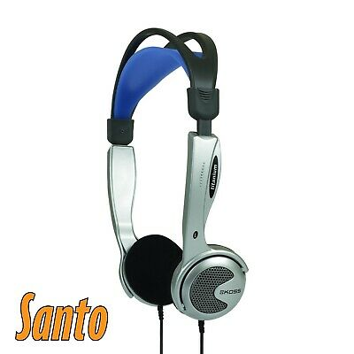 Koss KTXPRO1 Headband Headphones - Silver/Blue