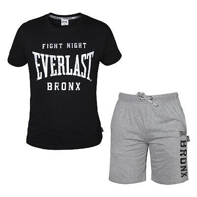 18,99 € per Completo Uomo Everlast Cotone T-shirt E Pantaloncino Art.31103 su eBay.it