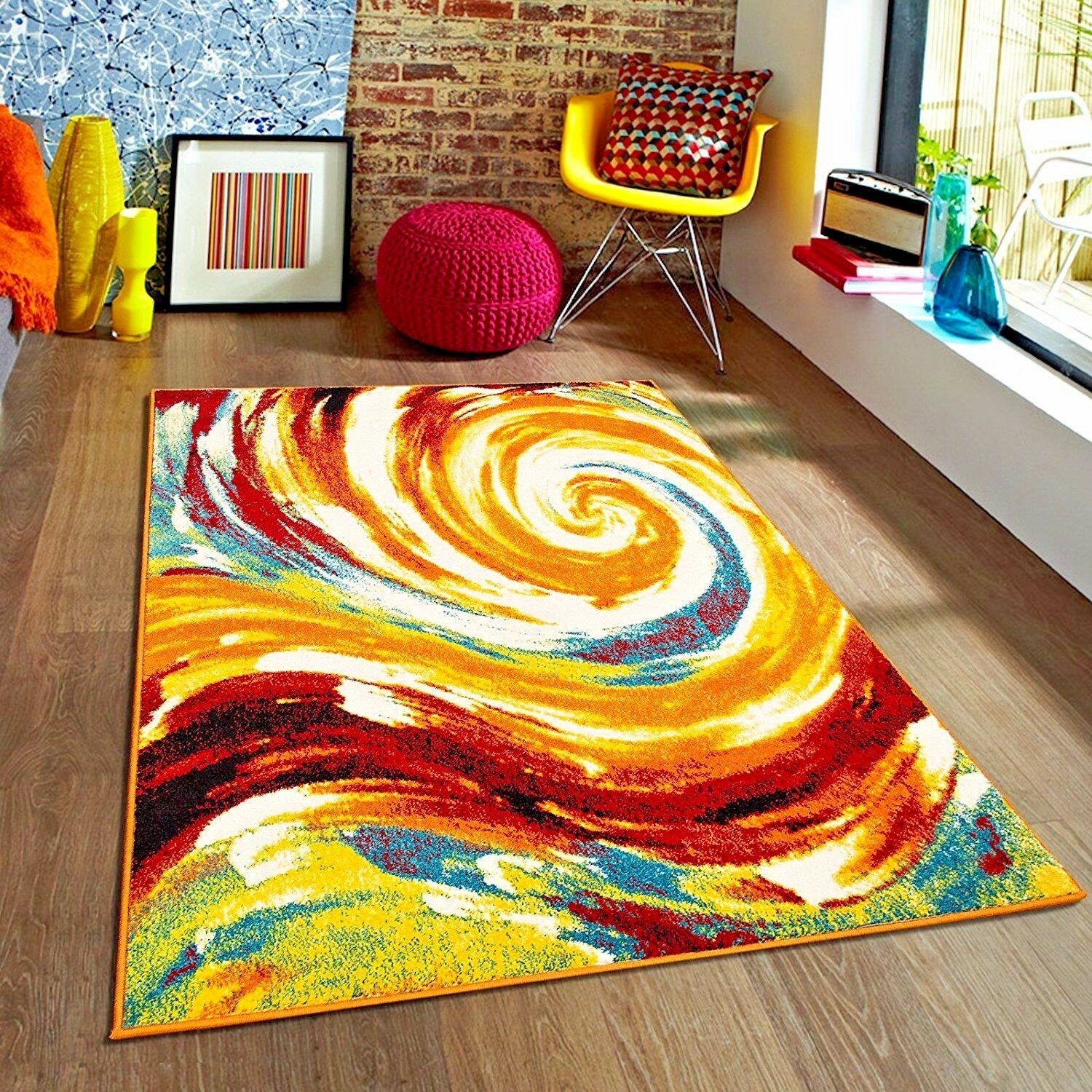 Rugs Area Rugs 8x10 Rug Carpets Modern Large Floor Plush Big