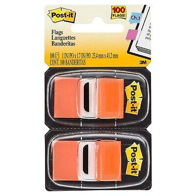 Post-it Flags 1 Wide Orange 100 Flagspack 680-0e2 318857