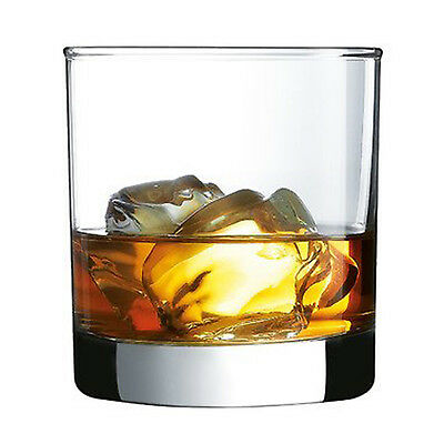 Whiskey Glasses Set of 4 Crystal Drinking Tumbler Glass Scotch Bourbon Bar Cups
