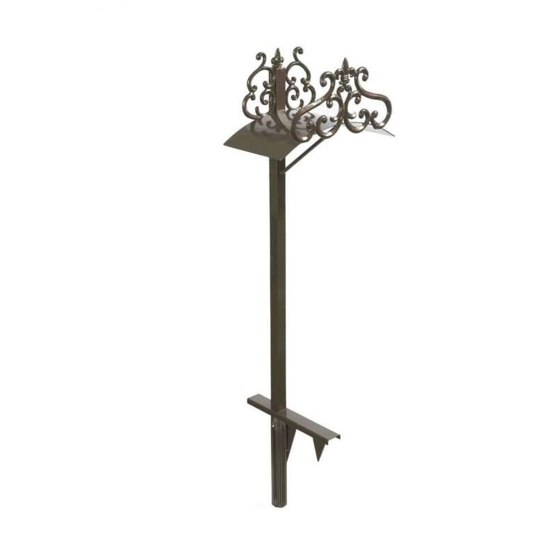 Liberty Garden LBG-649-KD Steel Decorative Garden Hose Stand w/ Hyde Park Design