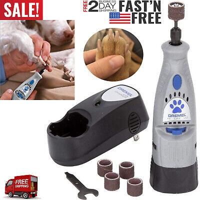 Dremel 7300-PT 4.8V Cordless Pet Dog Nail Grooming & Grinding Tool Dremel Pet Nail Grooming