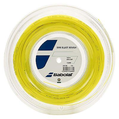 Babolat RPM Blast Rough 17G 1.25mm (yellow) 660ft 200m Reel Tennis String for sale  Shipping to Canada