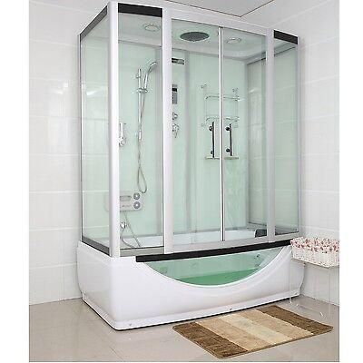 TroniTechnik Dampfdusche Duschtempel Duschkabine Whirlpool Wanne Badewanne