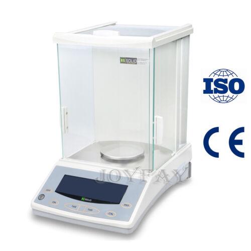 Analytical Balance 0.1 mg 120 x 0.0001 g Lab Digital Precision Scale U.S. Solid®