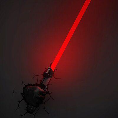 Star Wars Lamp Child Lightsaber Darth Vader Wall Room Niño Girl