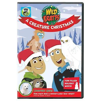 Wild Kratts: A Creature Christmas (DVD, 2016) - NEW!! ()