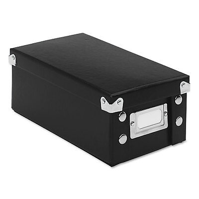 Snap-N-Store Collapsible Index Card File Box Holds 1 100 3 x 5 Cards (Collapsible Index Card File Box)