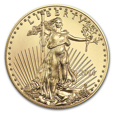 2014 1/10 oz Gold American Eagle Coin – Brilliant Uncirculated – SKU #79044