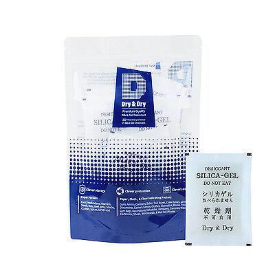 30 Gram X 5 Pk Premium Quality Silica Gel Desiccant Packets