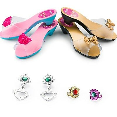 JaxoJoy Shoes and Jewelry Boutique – Little Girl Princess Play Gift Set with ...