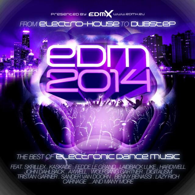 CD Edm 2014 Electronic Dance Music von Various Artists    2CDs