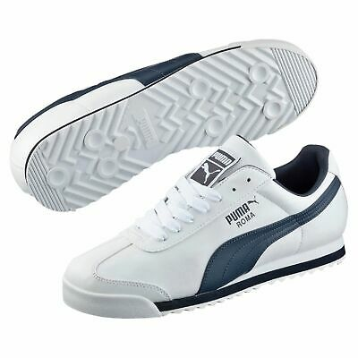 Puma Unisex Roma Basic Sneaker Schuhe 353572 White New Navy Unisex Navy Schuhe