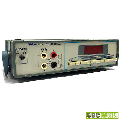 Tektronix Cdm250 Digital Multimeter - Ships Same Day