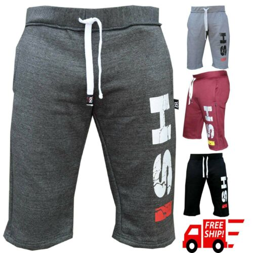 Gym Sweat Casual Fleece Shorts Men's Jogging Joggers Mma Boxing Training Short