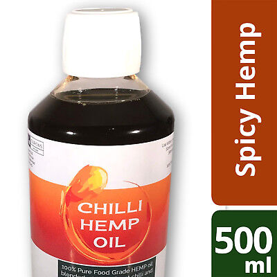 Spicy Hemp Oil Chilli Hot Fishing Bait Attractant 500ml Ourons Ltd