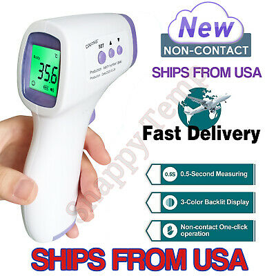 Medical Thermometer Infrared Digital Non-contact IR Laser Body Baby Thermometers