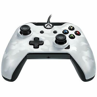 WHITE CAMO Wired Controller Officially Licenced XBOX ONE X S & PC NEW SEALED PDP