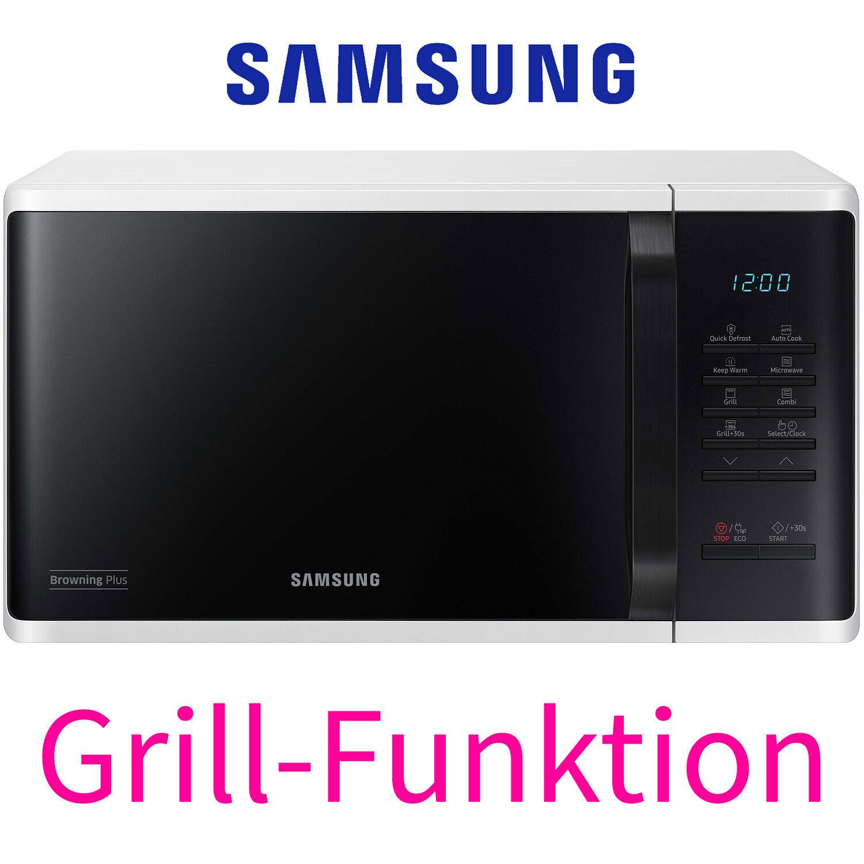 Samsung Kombi Mikrowelle mit Grill 23 Liter 27 Automatik-Programme Eco-Funktion