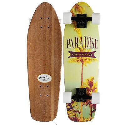 "BAMBOO CRUISER SKATEBOARD Paradise Instapalm 8"" x 26.75"" CANADIAN MAPLE"
