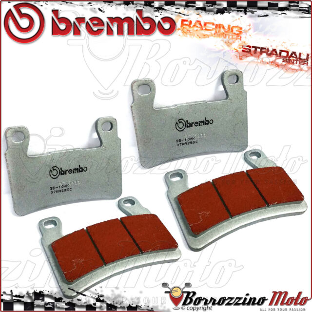 FRONT BRAKE PADS BREMBO SINTERED ROAD-RACING KAWASAKI ZX-6R 636 NINJA ABS 2015