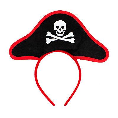 Haarreifen Piraten Hut Piratenkostüm Fasching Karneval Motto Party - Piraten Kostüm Haar