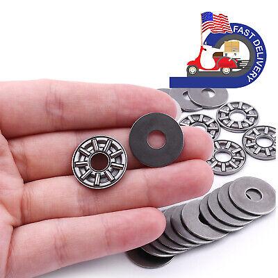 10pcs Thrust Needle Roller Bearings Plus Ultra Thin Shimaxk08192as 8192mm