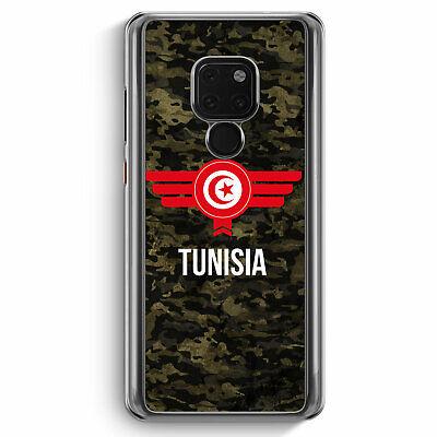 TUNISIA TUNESIEN CAMOUFLAGE MIT SCHRIFTZUG HUAWEI MATE 20 H LLE MOTIV DESIGN
