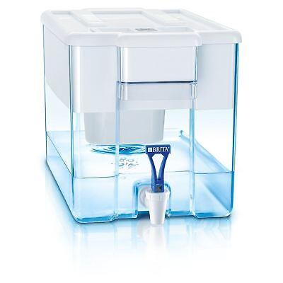 BRITA Optimax MAXTRA+ Plus 8.5L Water Filter Fridge Jug Large + Cartridge, White