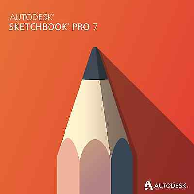 Sketchbook Professional 7.0 Pro (full retail) Win/Mac Disc+License USA