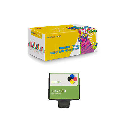 1-Pack DW906 Color (Series 20) Compatible Ink Cartridge for Dell P703w