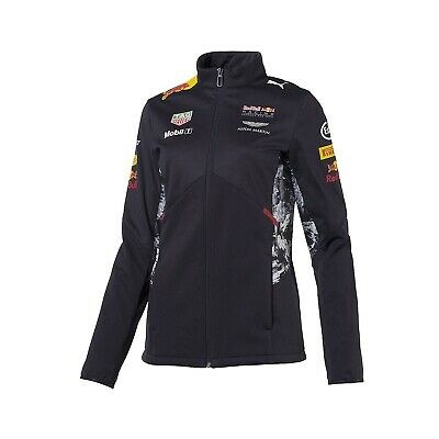 JACKET ladies Soft Shell Red Bull Racing Formula One 2017 Womens PUMA F1 NEW! XS