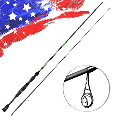 KastKing Resolute 4'6'' - 7'6'' Spinning Fishing Rod For Freshwater & (Crappie Pole)