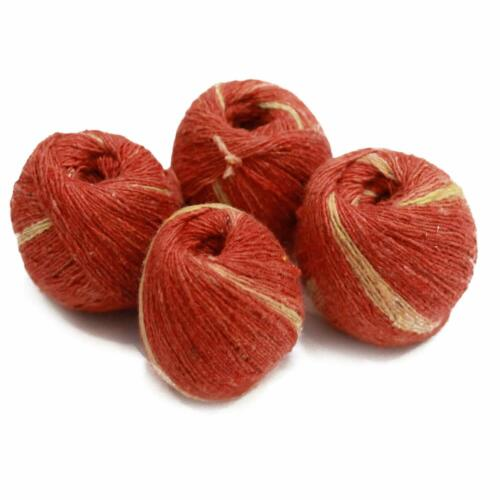 Red Sacred Thread,Pooja Kalawa Moli ,Shudh Dhaga (Pack of 4)