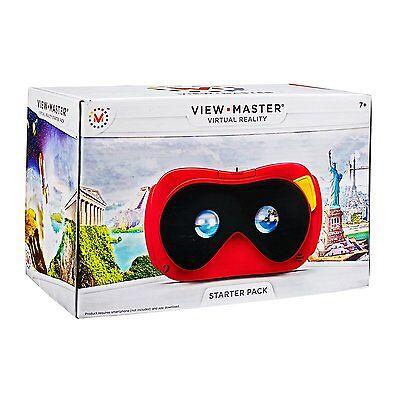 Mattel View-Master Starterpack Virtual Reality Brille Kinder App-Spielzeug NEU