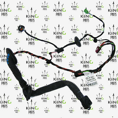MERCEDES W204 2007-2014 WIRING LOOM HARNESS REAR DOOR RIGHT DRIVER SIDE O/S