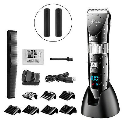 Hatteker Cordless Hair Trimmer Pro Hair clippers Beard Trimm