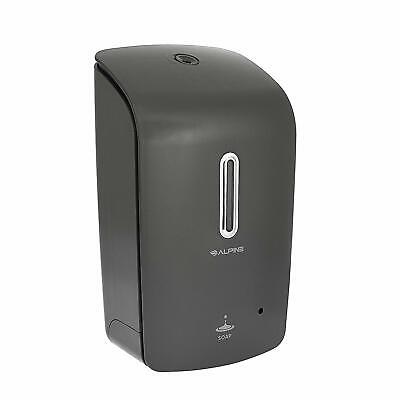 Alpine Industries Gray Wall Mount Automatic Hands-free Liquid Soap Dispenser