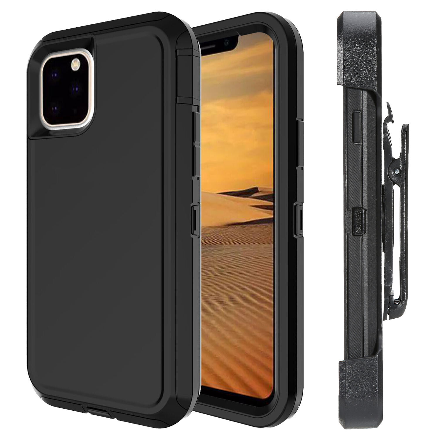 Case For iPhone 11 12 Pro Max 7 Plus 8 Plus Screen Protector