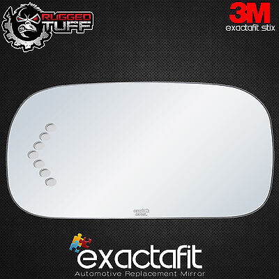 Cadillac Deville Driver (New Replacement Driver's Side Mirror Glass for 03-05 CADILLAC DEVILLE Signal Cut )