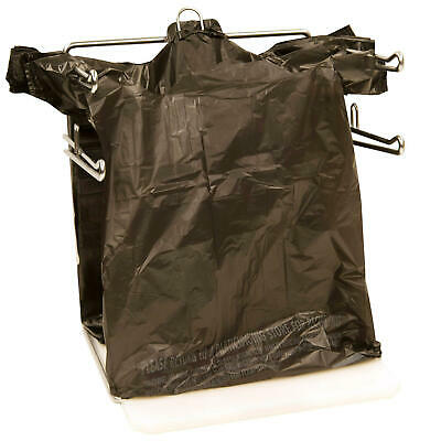 Black T-shirt Carry Out Thank You Bags Recyclable 100 Ct Plastic