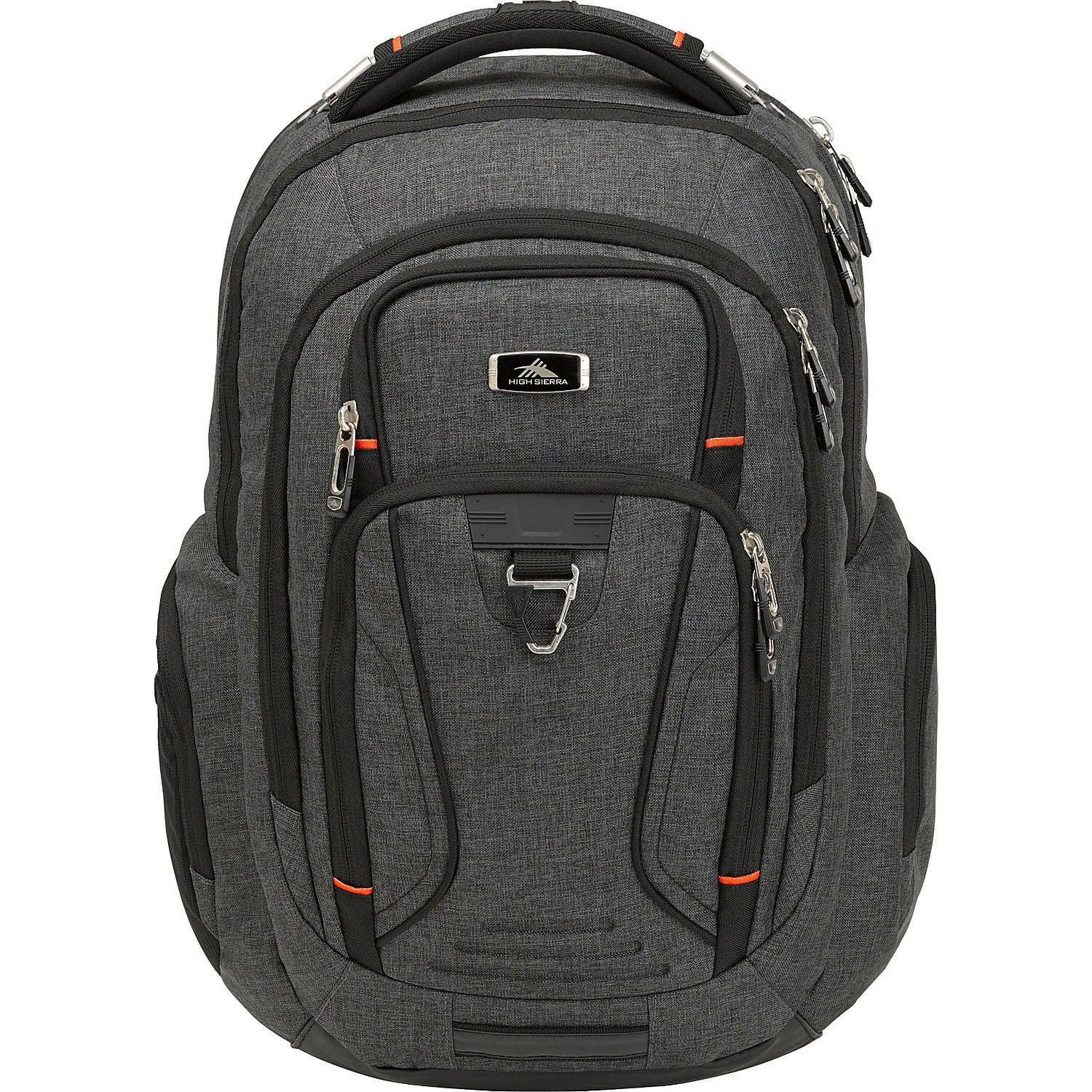 High Sierra Endeavor Business Elite Backpack, Mercury Heathe